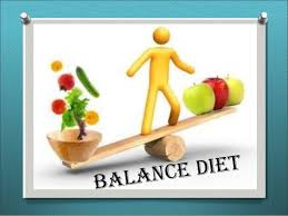 Balance Diet - key of good health