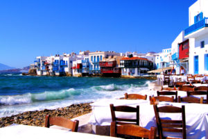 Beauty of Mykonos Beach